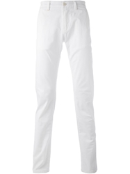 Re Hash Slim Fit Trousers White