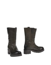 P.A.R.O.S.H. Ankle Boots Dark Brown