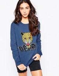 A Question Of Desire Sweater Ny1 Navy 1