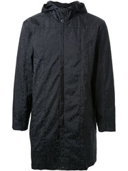 Christopher Kane Hooded Raincoat Black