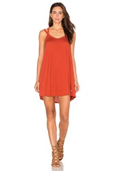 Rvca Like It Dress Rust