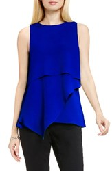 Vince Camuto Women's Sleeveless Asymmetrical Layer Blouse