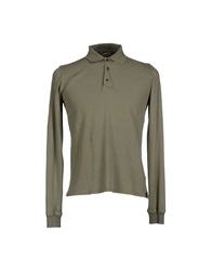 Alpha Massimo Rebecchi Polo Shirts Military Green