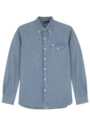 Polo Ralph Lauren Blue Cotton Chambray Shirt