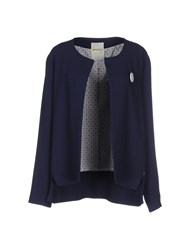 Ottod'ame Suits And Jackets Blazers Women Blue