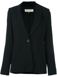 Emilio Pucci Single Button Blazer Black