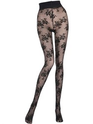 Pierre Mantoux Coraline Embellished Lace Stockings