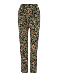 Biba Honeysuckle Printed Slouch Trouser Multi Coloured
