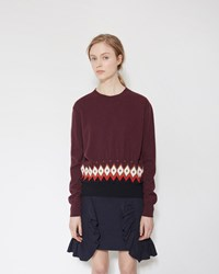 Marni Crew Neck Sweater Chili