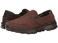 Skechers Performance Go Walk 3 Task Chocolate Men's Slip On Shoes Brown