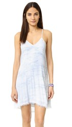 Feel The Piece Gracie Woven Dress Blue Jupiter