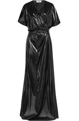 Moschino Cheap And Chic Embossed Maxi Dress