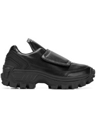 Juun.J Cleated Sole Sneakers Black