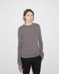 M. Martin Ribbed Sweater Grey