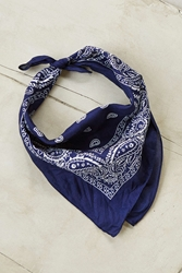 Urban Outfitters Classic Bandana Navy