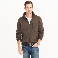 J.Crew Tall Summit Fleece Full Zip Jacket