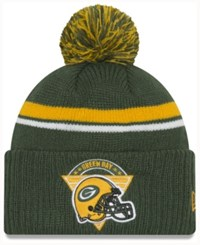 New Era Green Bay Packers Diamond Stacker Knit Hat