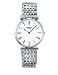 Longines Automatic Stainless Steel Bracelet Watch Silver