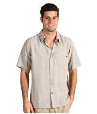 Marmot Eldridge S S Moonstruck Men's Short Sleeve Button Up Bone