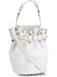 Alexander Wang 'Diego' Bucket Crossbody Bag White