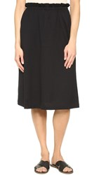 Getting Back To Square One Paper Bag Skirt Black