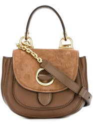 Michael Michael Kors Eyelet Detail Satchel Brown