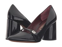 Marc Jacobs Florence Button Pump Black High Heels