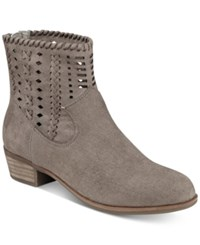 Indigo Rd. Cam Perforated Booties Women's Shoes Taupe