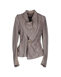 See U Soon Coats And Jackets Jackets Women Dove Grey