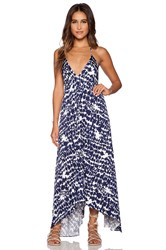 T Bags Losangeles Low Back Maxi Dress Navy