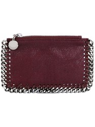 Stella Mccartney 'Falabella' Coin Pouch Pink And Purple