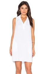 Bella Dahl Sleeveless A Line Dress White