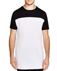 Zanerobe Color Block Top Tall Tee Black White