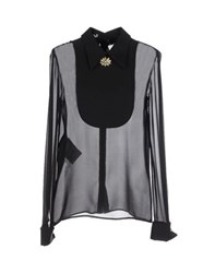 Miu Miu Shirts Blouses Women Black