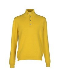 Ballantyne Knitwear Turtlenecks Men Ochre