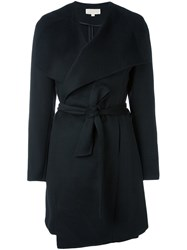 Michael Michael Kors Belted Single Breasted Coat Black