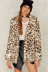 Jakke Marsha Leopard Coat Animal