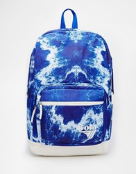 Gola Tie Dye Print Backpack Bluewhite