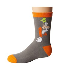 Neff Shy Goofy Sock Youth Grey Heather Men's Crew Cut Socks Shoes Gray