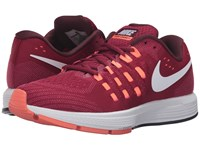 Nike Air Zoom Vomero 11 Noble Red White Bright Mango Night Maroon Women's Running Shoes