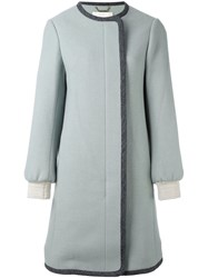 Chloe Slim Fit Coat Green