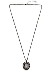 Maison Antonym Relic Black Rhodium Plated Necklace