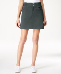 Styleandco. Style And Co. Skort Only At Macy's New Graph Grey