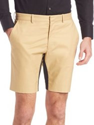 Opening Ceremony Contrast Inseam Shorts Plywood