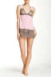 Honeydew Intimates Coquette Baby Doll Set Pink