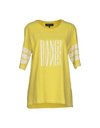 April May Topwear T Shirts Women Acid Green