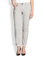 Joe's Jeans Blueberry Striped Slim Relaxed Fit Jeans