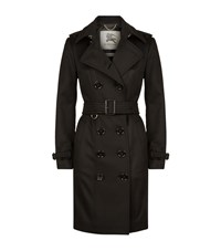 Burberry London The Sandringham Long Cashmere Trench Coat Female Black