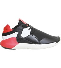 Adidas Y3 Y3 Boost Qr Trainers Black Red White