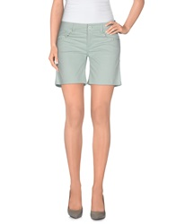 Blugirl Folies Denim Bermudas Light Green